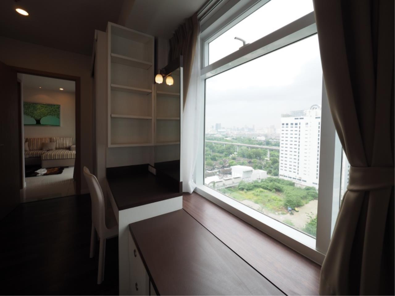 Century21 Skylux Agency's Circle Condominium / Condo For Rent / 1 Bedroom / 46 SQM / MRT Phetchaburi / Bangkok 6