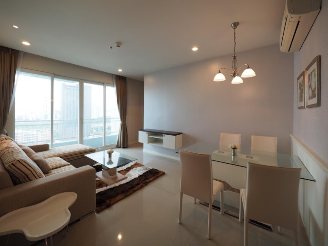 Century21 Skylux Agency's Circle Condominium / Condo For Rent / 1 Bedroom / 46 SQM / MRT Phetchaburi / Bangkok 3