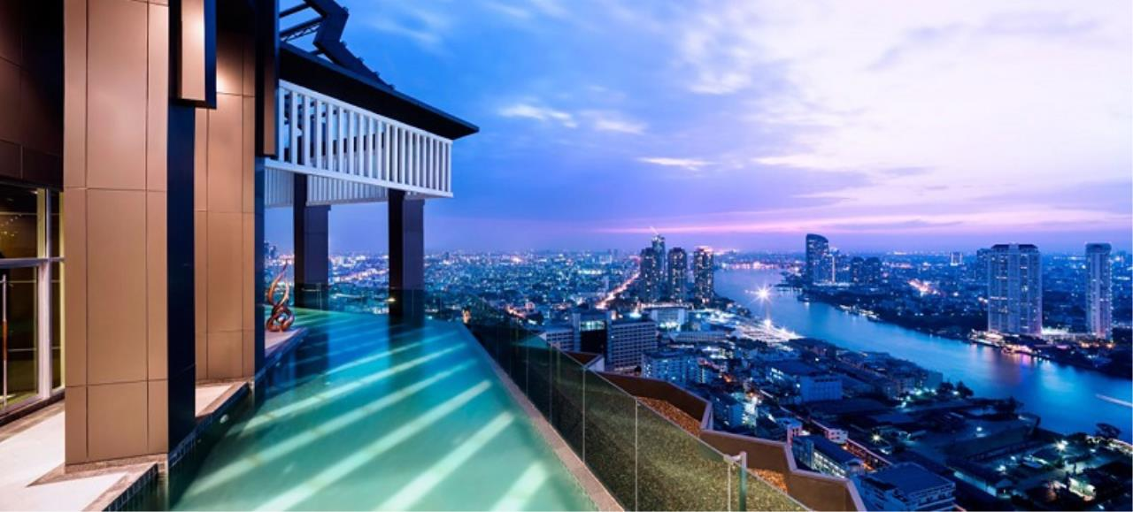Century21 Skylux Agency's Rhythm Sathorn / Condo For Sale / 1 Bedroom / 35 SQM / BTS Saphan Taksin / Bangkok 8