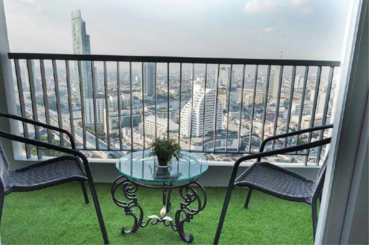 Century21 Skylux Agency's Rhythm Sathorn / Condo For Sale / 2 Bedroom / 66 SQM / BTS Saphan Taksin / Bangkok 9