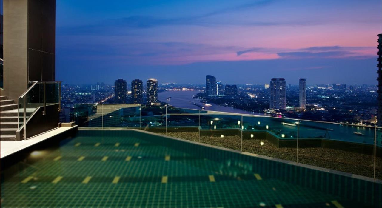 Century21 Skylux Agency's Rhythm Sathorn / Condo For Sale / 2 Bedroom / 66 SQM / BTS Saphan Taksin / Bangkok 12