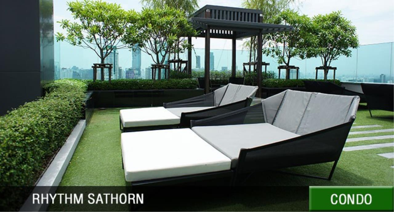 Century21 Skylux Agency's Rhythm Sathorn / Condo For Rent / 1 Bedroom / 45 SQM / BTS Saphan Taksin / Bangkok 9