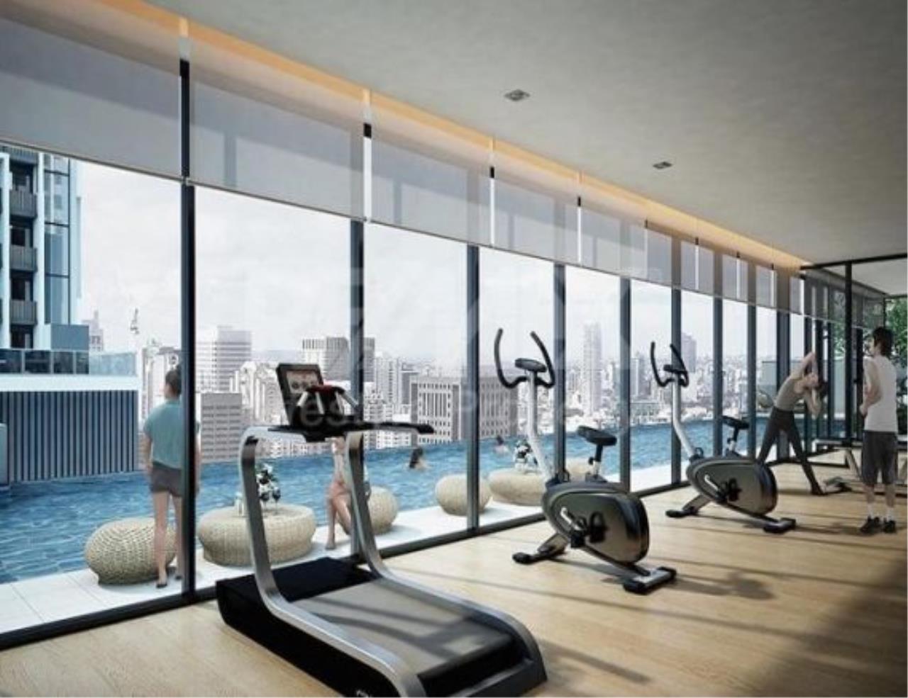 Century21 Skylux Agency's Quinn Condo Ratchada / Condo For Rent / 1 Bedroom / 34 SQM / MRT Sutthisan / Bangkok 7