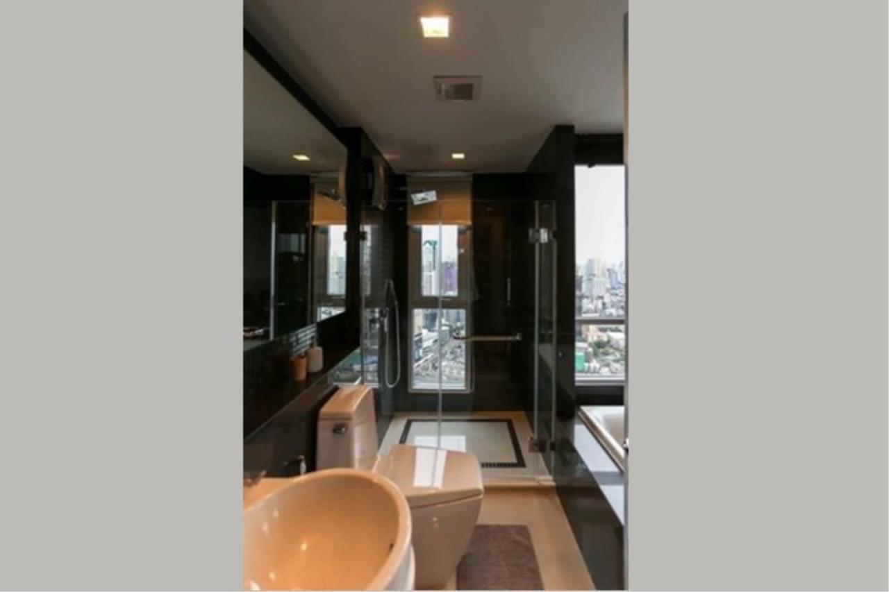 Century21 Skylux Agency's Rhythm Sathorn / Condo For Sale / 2 Bedroom / 63.5 SQM / BTS Saphan Taksin / Bangkok 7