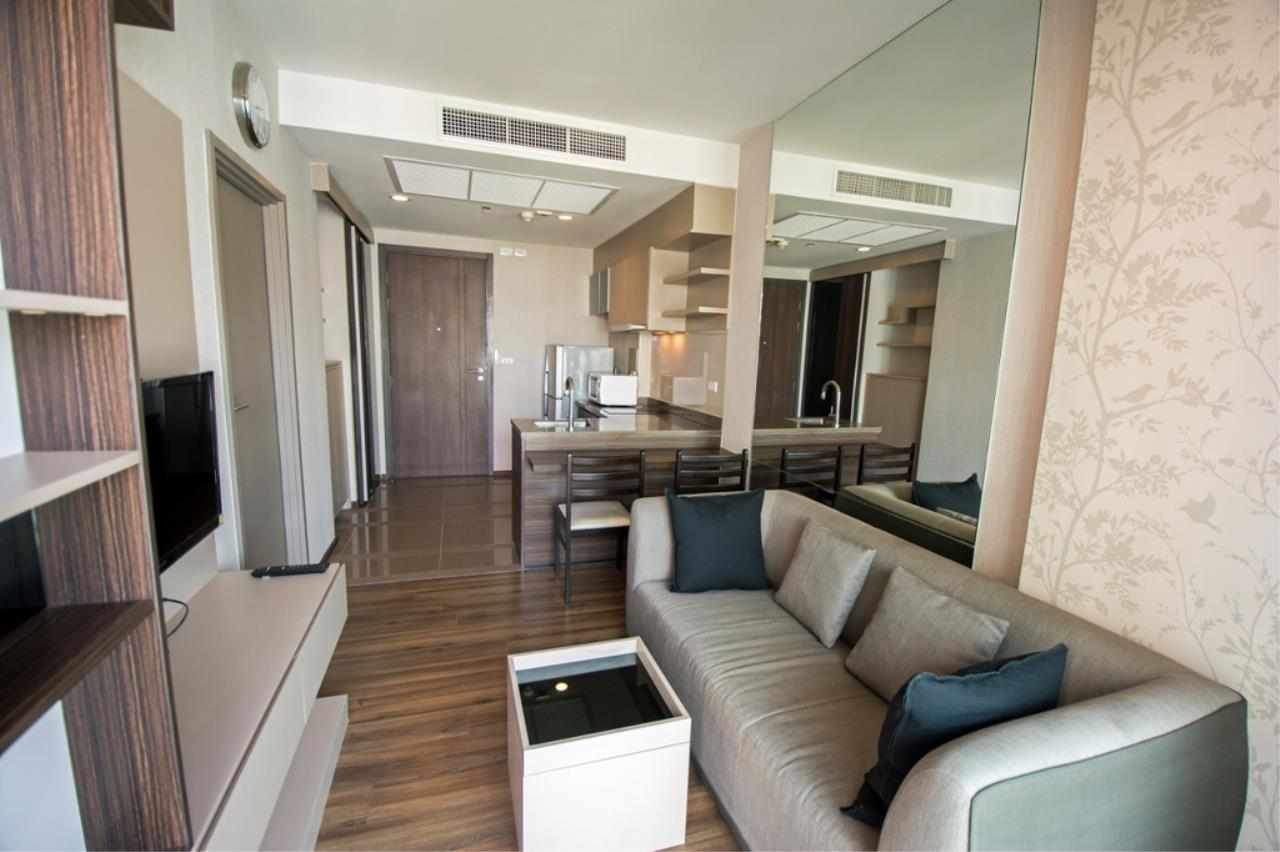 Century21 Skylux Agency's TEAL Sathorn-Taksin / Condo For Rent / 1 Bedroom / 34.5 SQM / BTS Wongwian Yai / Bangkok 3