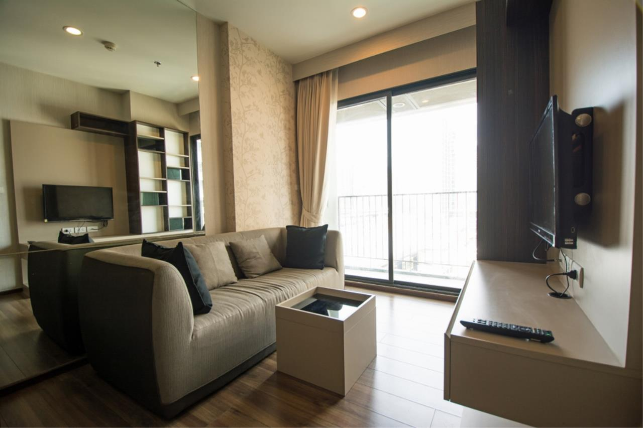 Century21 Skylux Agency's TEAL Sathorn-Taksin / Condo For Rent / 1 Bedroom / 34.5 SQM / BTS Wongwian Yai / Bangkok 1