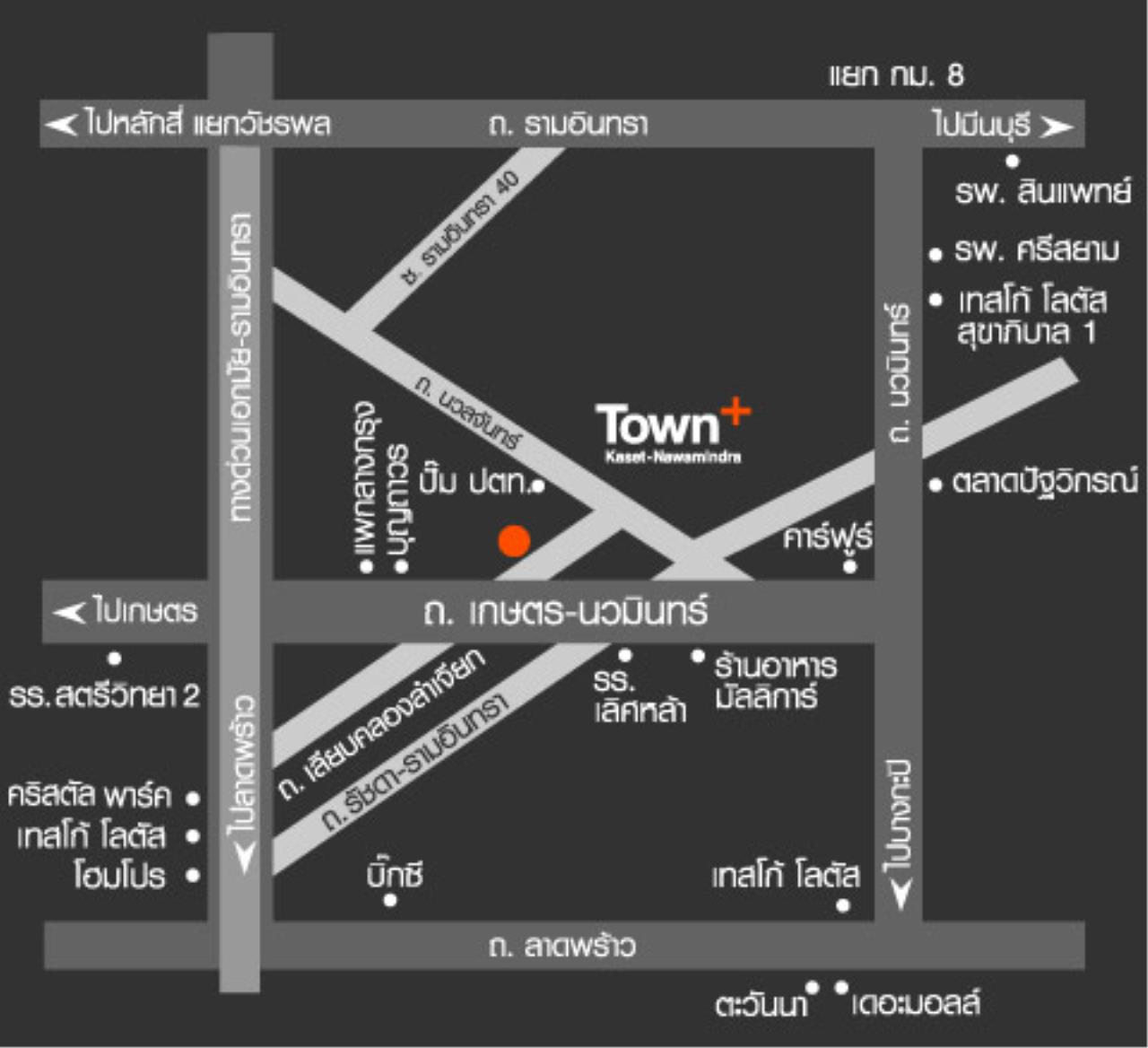 Century21 Skylux Agency's Townplus Kaset Nawamindra / Townhouse For Sale / 3 Bedroom / 195 SQM / null / Bangkok 12