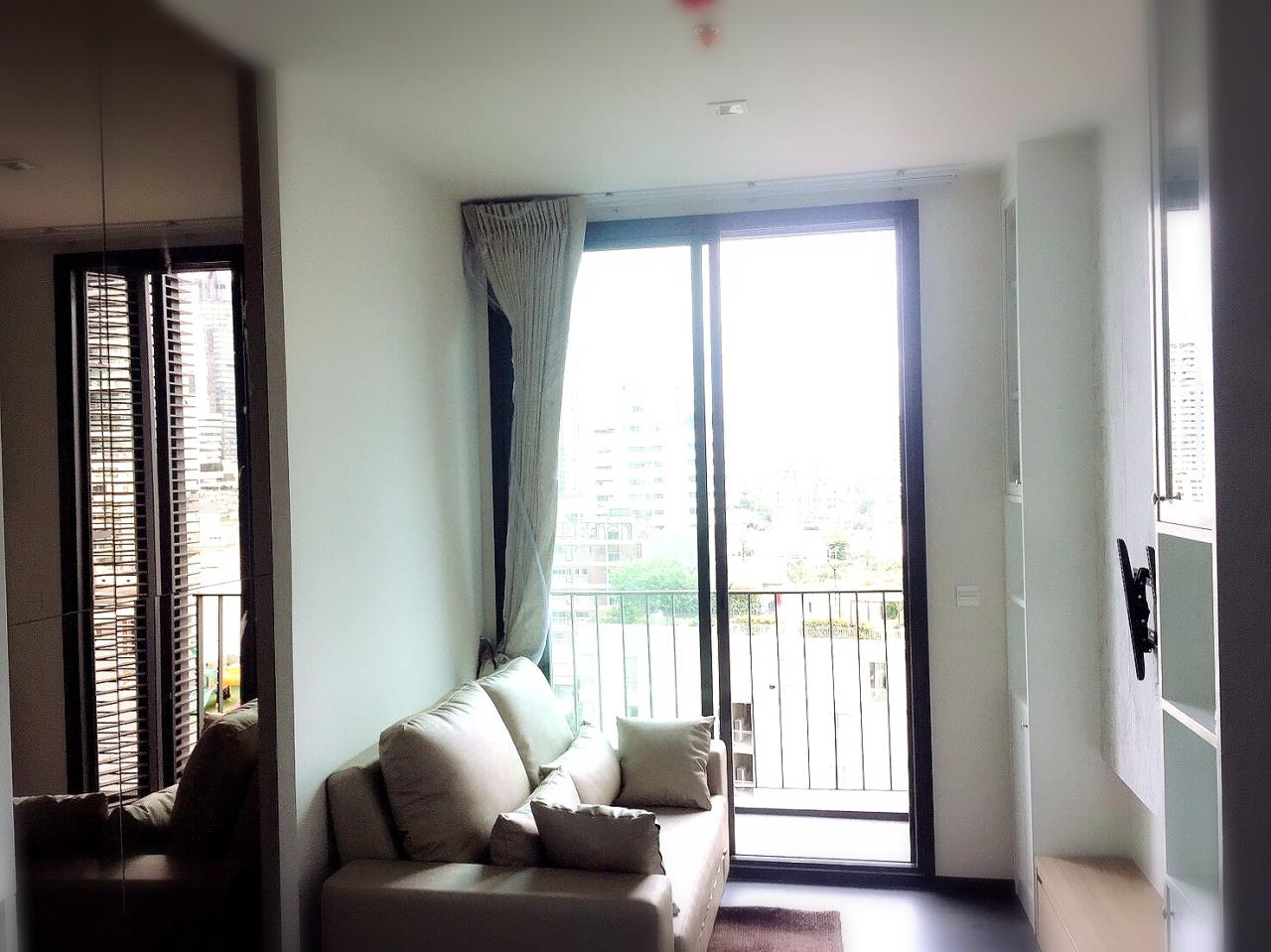 Century21 Skylux Agency's Edge Sukhumvit 23 / Condo For Rent / 1 Bedroom / 33 SQM / BTS Asok / Bangkok 3