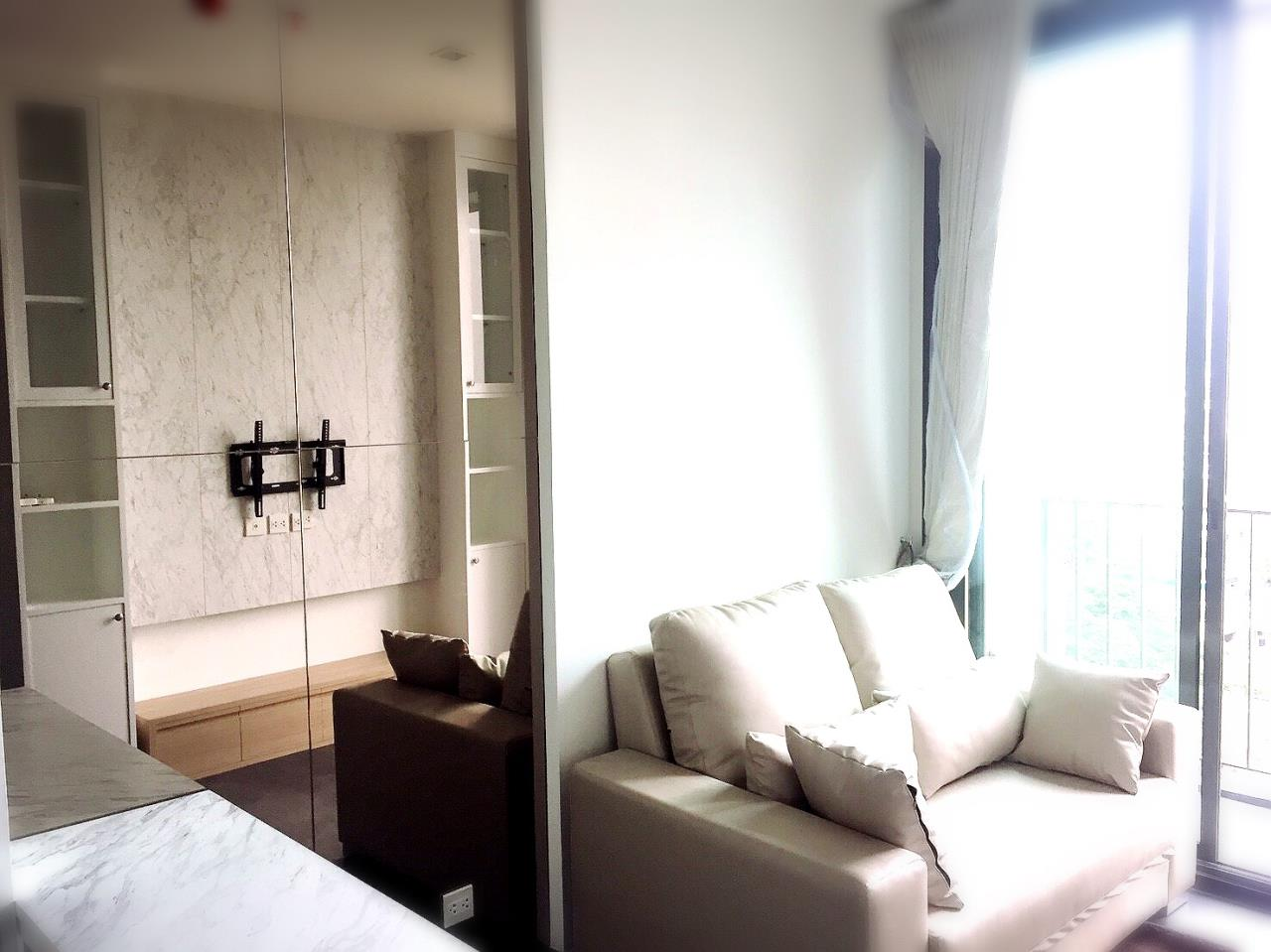 Century21 Skylux Agency's Edge Sukhumvit 23 / Condo For Rent / 1 Bedroom / 33 SQM / BTS Asok / Bangkok 1