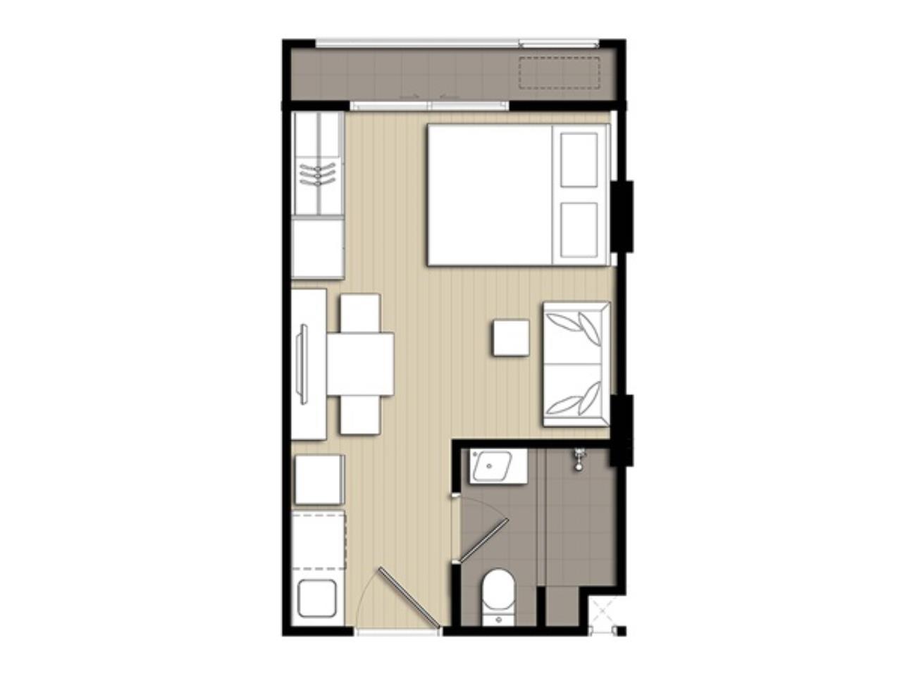 Century21 Skylux Agency's Elio Del Ray / Condo For Sale / 1 Bedroom / 24 SQM / BTS Punnawithi / Bangkok 7