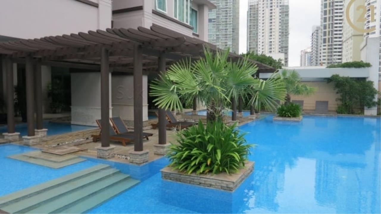 Century21 Skylux Agency's Baan Siri 24 / Condo For Rent / 2 Bedroom / 96 SQM / BTS Phrom Phong / Bangkok 8