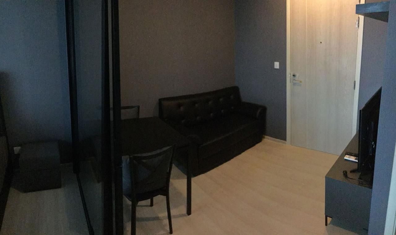 SmartProperty Agency's Condo for Rent, LIFE ASOKE 1B1B 30 sq.m. 20th flr. Fully furnished 2