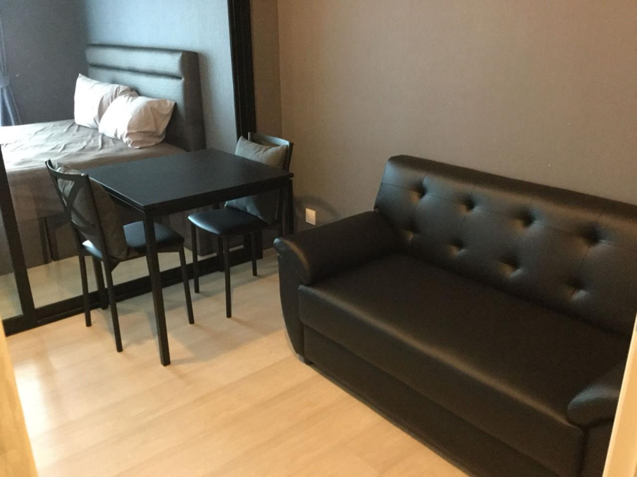 SmartProperty Agency's Condo for Rent, LIFE ASOKE 1B1B 30 sq.m. 20th flr. Fully furnished 3