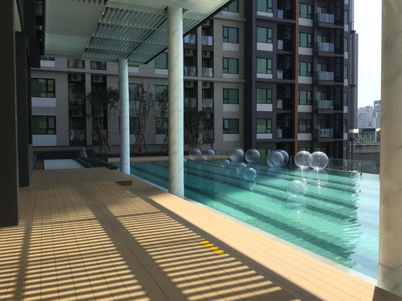 SmartProperty Agency's Condo for Rent, LIFE ASOKE 1B1B 30 sq.m. 20th flr. Fully furnished 17