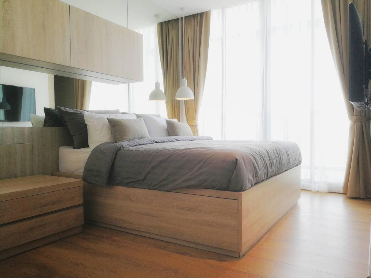 SmartProperty Agency's For Rent, Park24, 1Bedroom, 28sq.m. 38th flr. Fully-furnished, near BTS Prompong (unblocked city view) 1