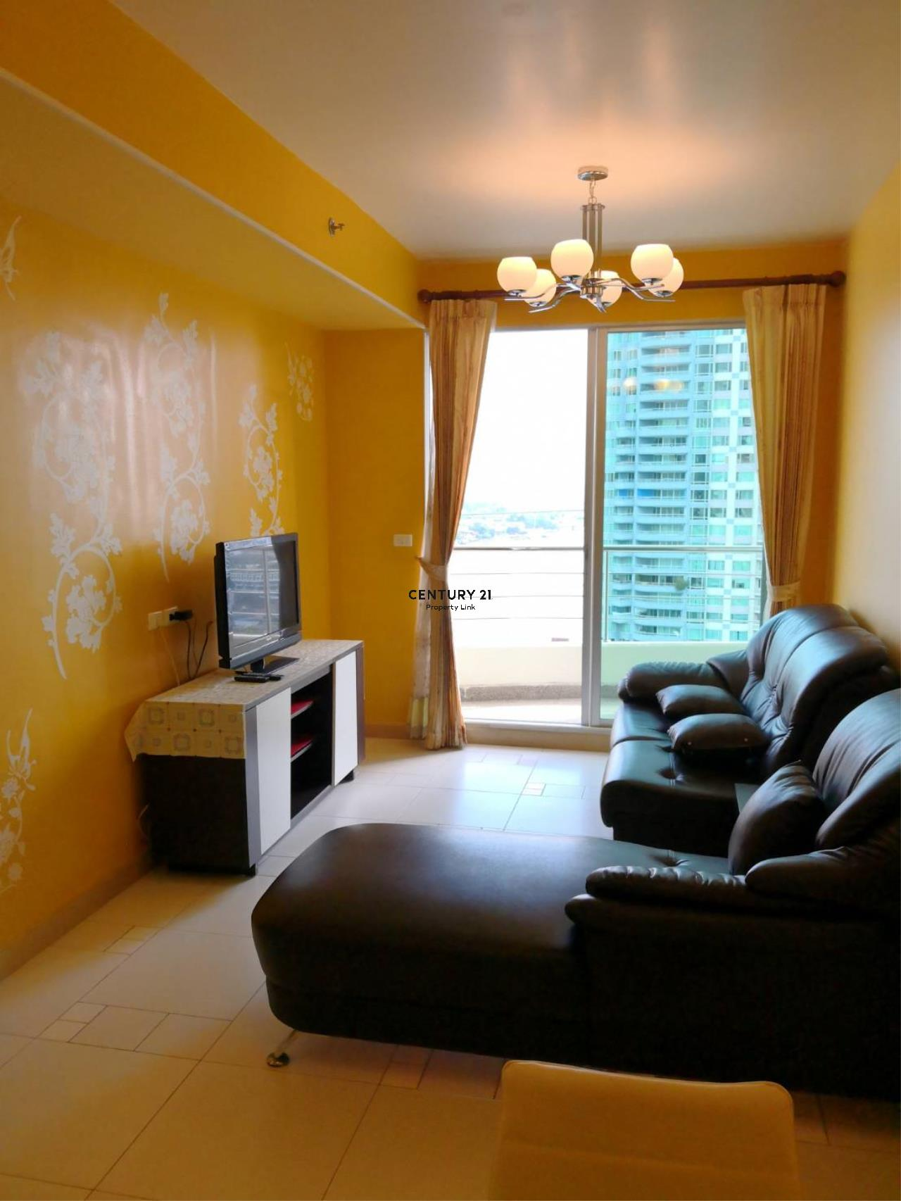 Century21 Property Link Agency's 38-CC-61331 Supalai River Place Condominium  Fully Furnished High level view Chao Phraya River near BTS Krung Thon Buri  1