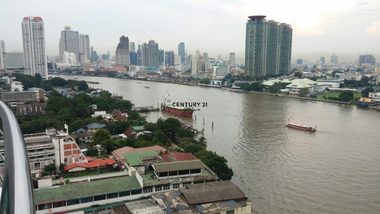 Century21 Property Link Agency's 38-CC-61430 Supalai River Place near BTS Krung Thon Buri City view   7