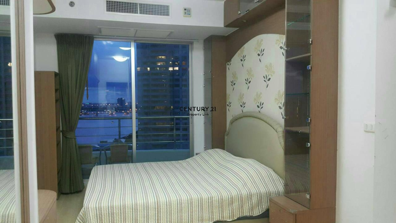 Century21 Property Link Agency's 38-CC-61537 Supalai River Place Condominium  Fully Furnished High level view Chao Phraya River near BTS Krung Thon Buri  5