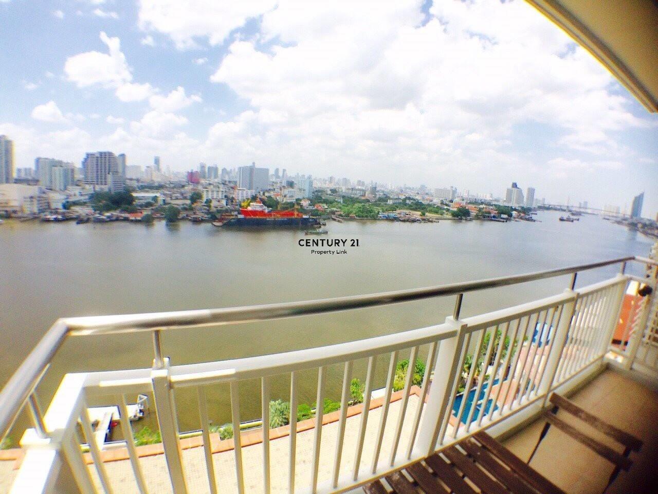 Century21 Property Link Agency's 38-CC-61645 Ivy River @ Rat Burana Chao Phraya River View Corner room 7