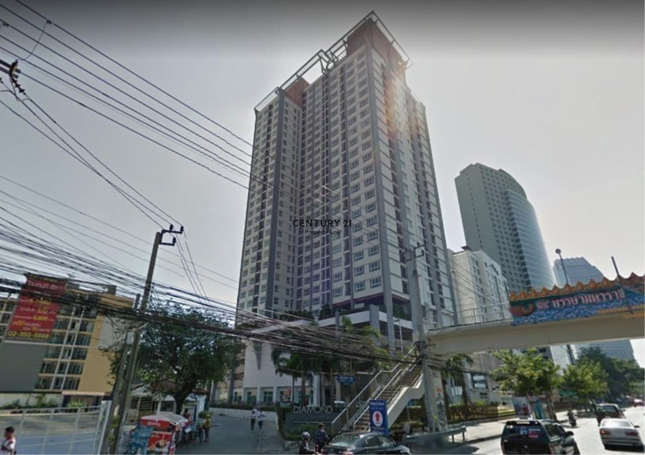 Century21 Property Link Agency's 38-CC-61648 Diamond Ratchada @ Ratchadaphisek near MRT Huay Kwang 1