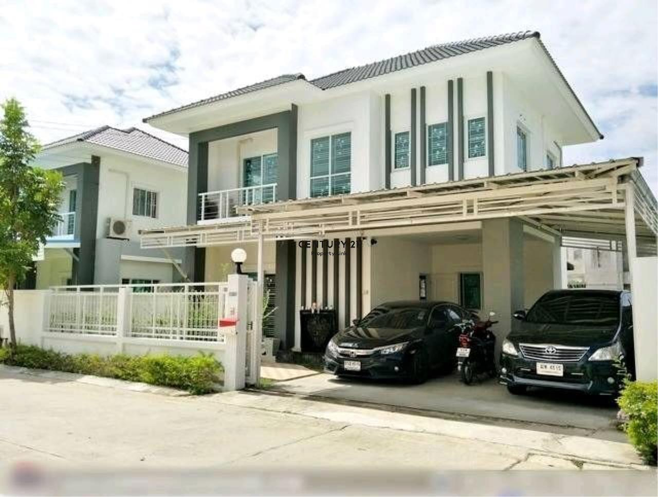 Century21 Property Link Agency's 38-HH-61070 single House @Kanchanapisek near Central Westgate 1