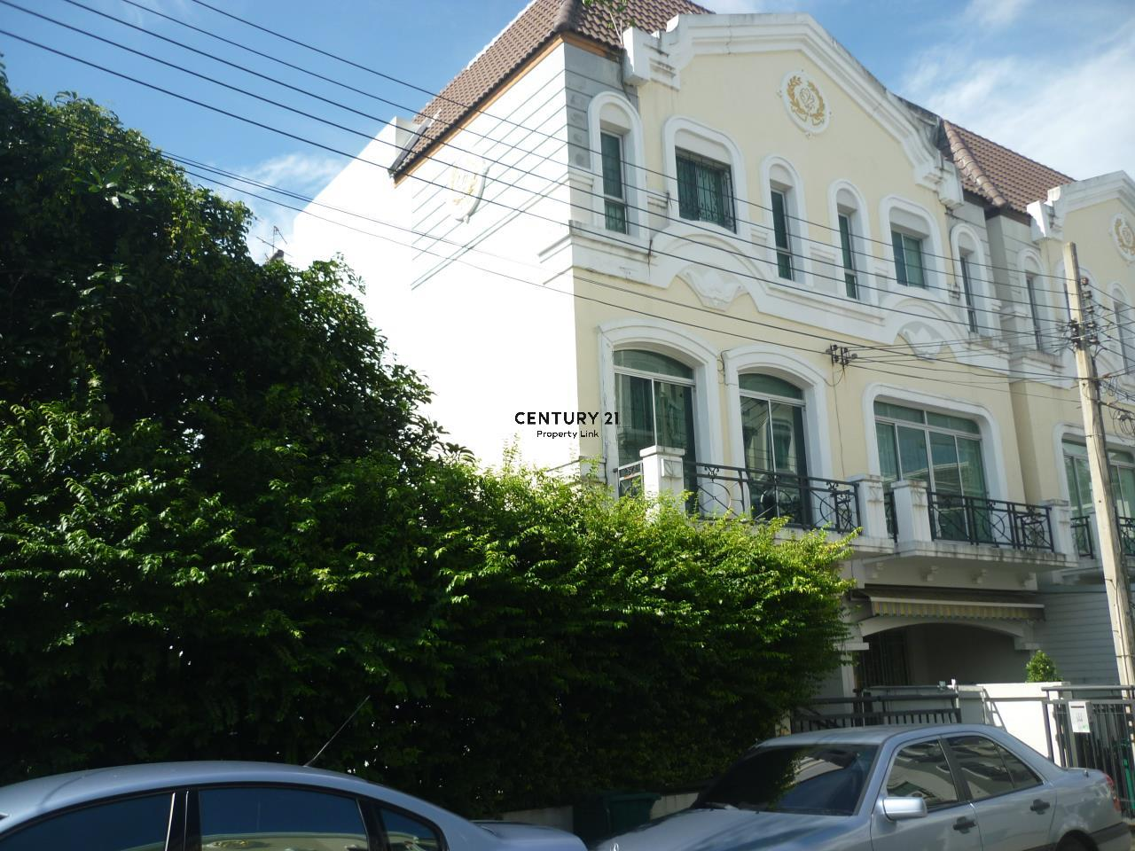 Century21 Property Link Agency's 38-TH-61061 Townhome 3 Storeys @Prasert-Manukitch near Nawamin city Avenue The Walk Kaset University 2