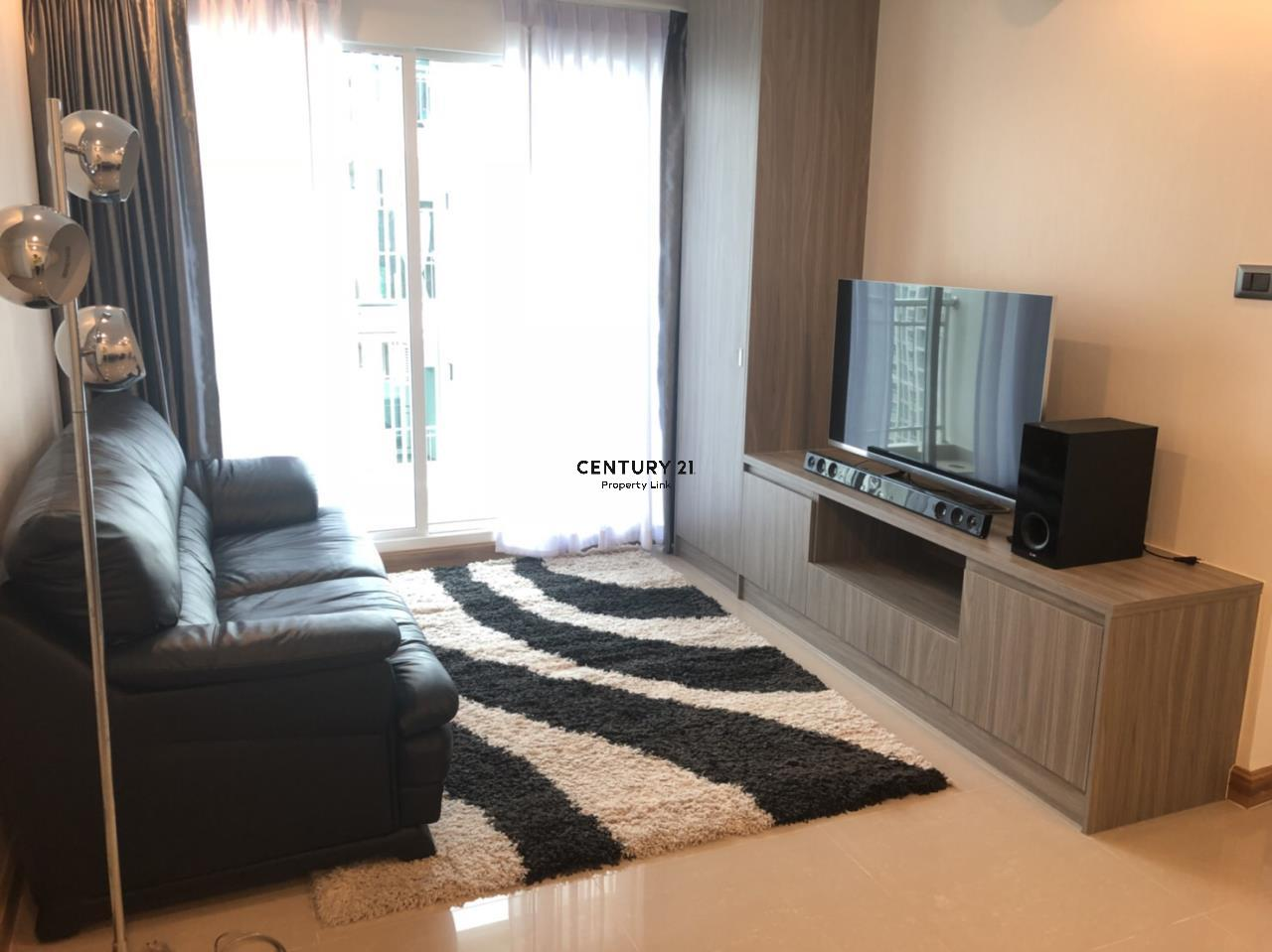 Century21 Property Link Agency's 39-CC-61279 Supalai Wellington2 Room For Rent 2 Bedroom Huai Khwang  Near MRT Thailand Cultural Centre  Rental price 30,000THB/ m. 1