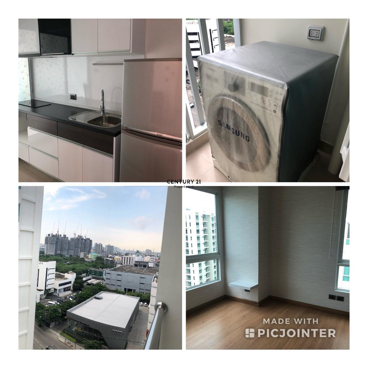 Century21 Property Link Agency's 39-CC-61279 Supalai Wellington2 Room For Rent 2 Bedroom Huai Khwang  Near MRT Thailand Cultural Centre  Rental price 30,000THB/ m. 10