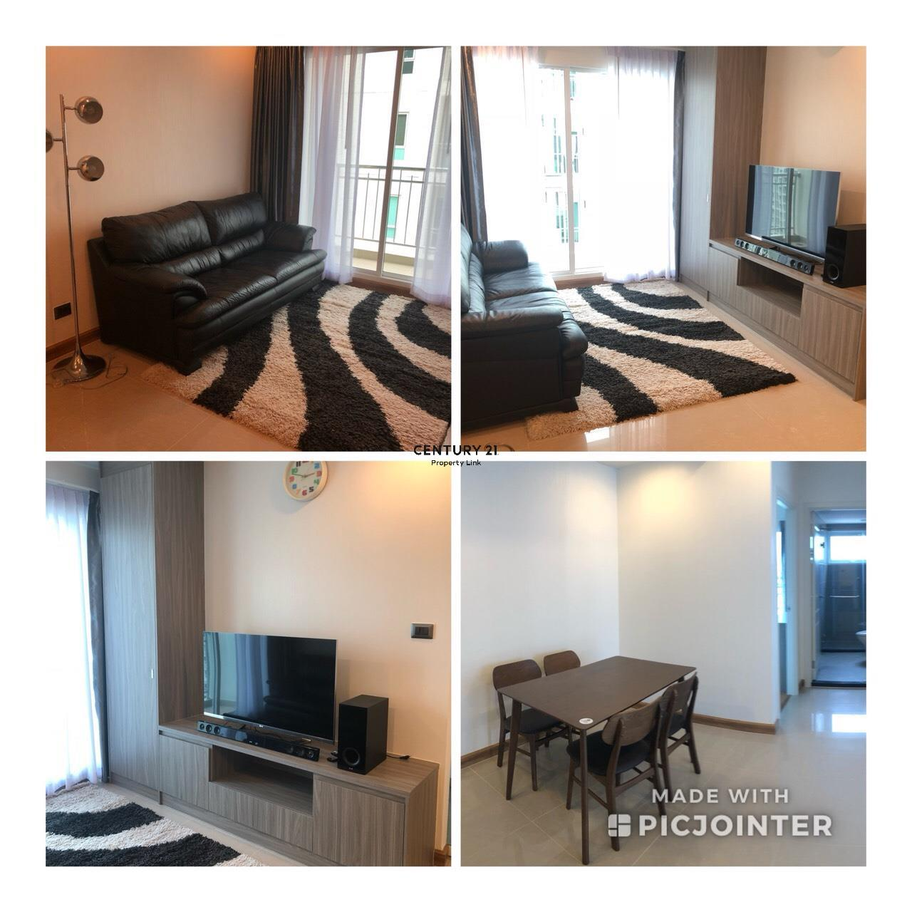 Century21 Property Link Agency's 39-CC-61279 Supalai Wellington2 Room For Rent 2 Bedroom Huai Khwang  Near MRT Thailand Cultural Centre  Rental price 30,000THB/ m. 9