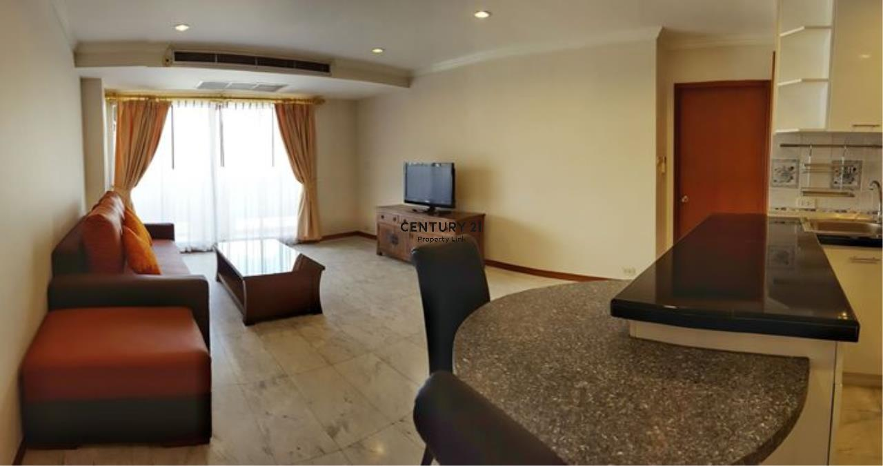 Century21 Property Link Agency's 39-CC-61387 Baan Sukhumvit Room For Rent Near BTS Thong lo Sukhumvit Road 2 Bedroom 27,000 THB./ month 1