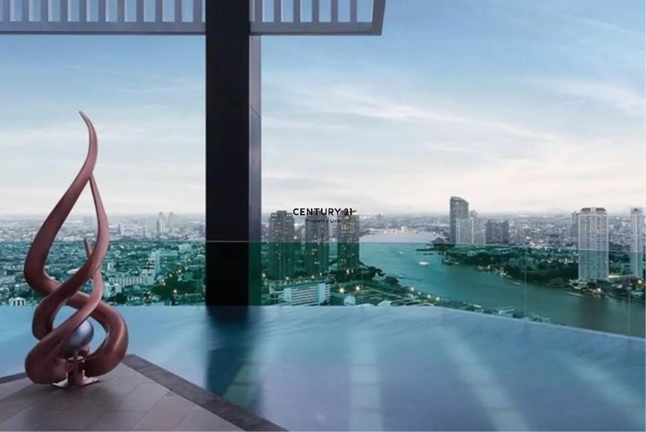 Century21 Property Link Agency's 39-CC-61433 Rhythm Sathorn Room For Sale 2 Bedroom Sathorn Bangrak Nearby Saphan Taksin BTS Sale price 9.75 MB.   6