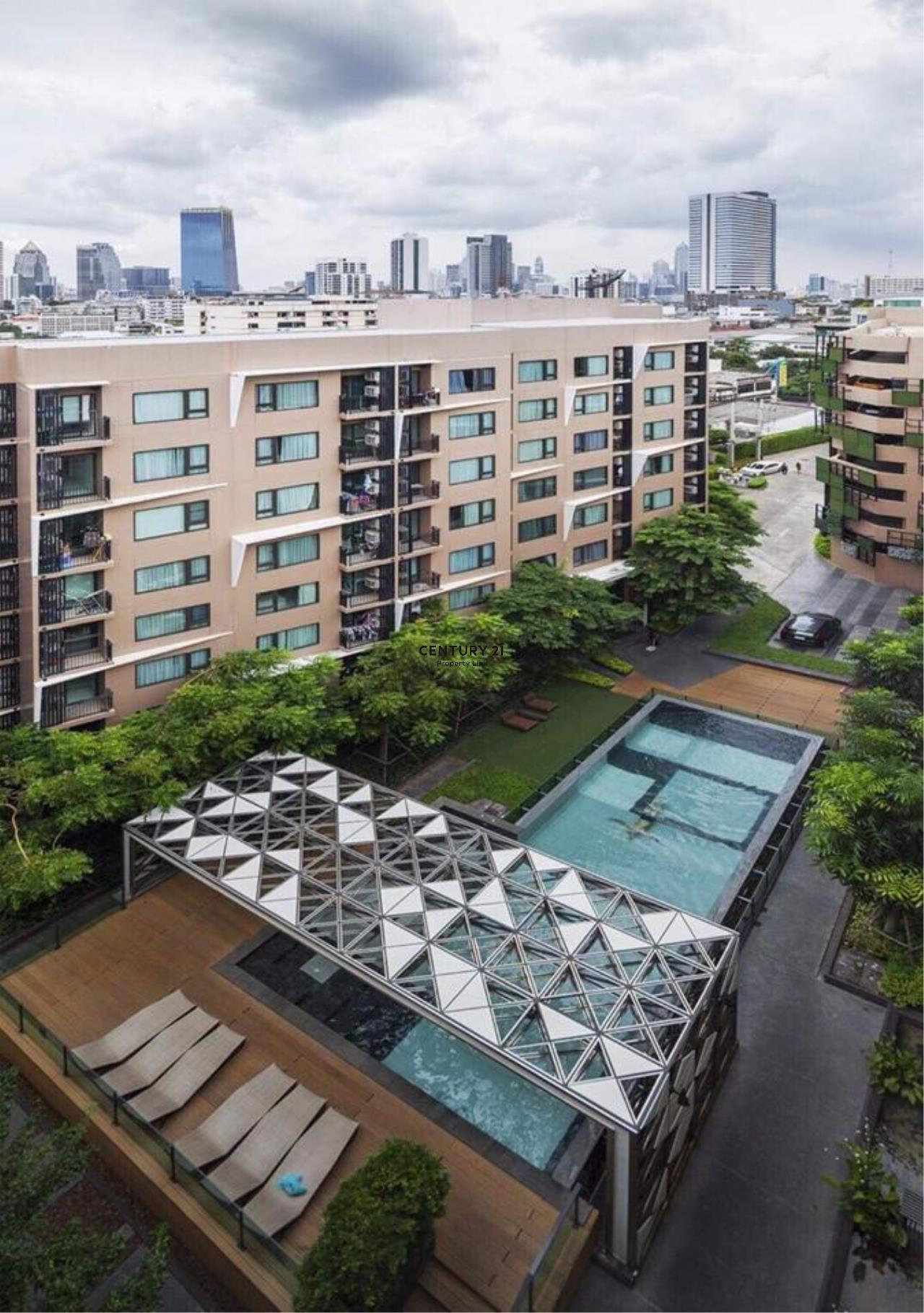 Century21 Property Link Agency's 39-CC-61515 Condolette Pixel Sathorn Condo for Sale 1 bedroom Near MRT Lumpini Sale Price 3.9MB. 11