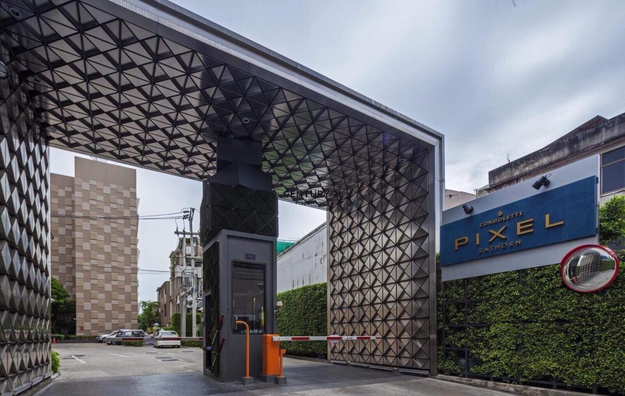 Century21 Property Link Agency's 39-CC-61515 Condolette Pixel Sathorn Condo for Sale 1 bedroom Near MRT Lumpini Sale Price 3.9MB. 12