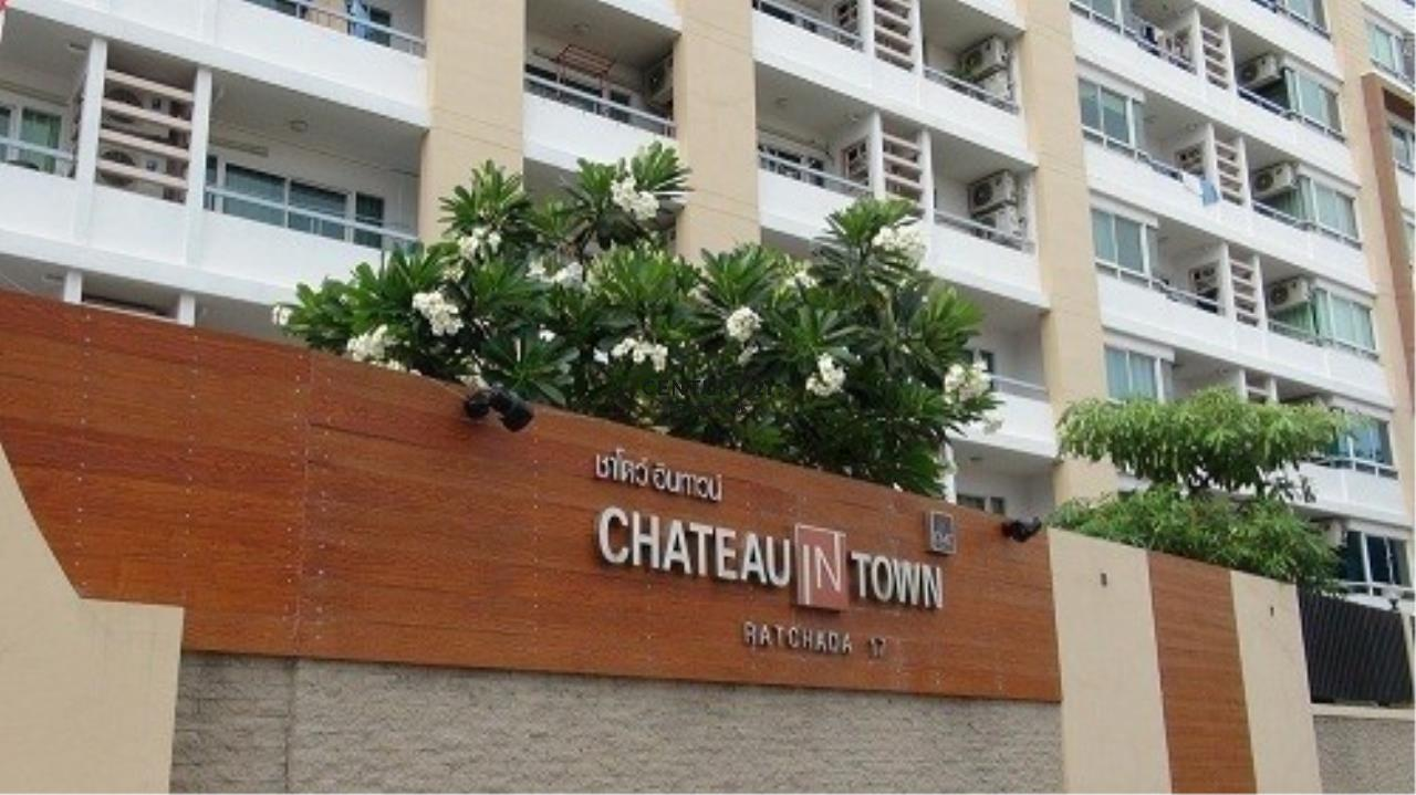 Century21 Property Link Agency's 39-CC-61545 Chateau In Town Ratchada 17 Near Huai Khwang MRT Ratchadapisek Road Room For Rent 2 Bedroom Rental 18,000THB / month  8