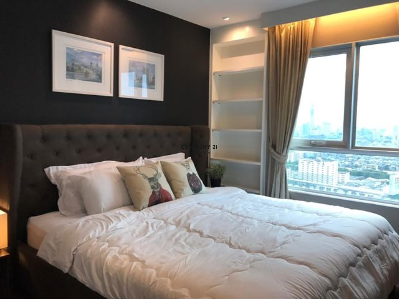 Century21 Property Link Agency's 39-CC-61594 BELLE GRAND RAMA 9 Condo for rent 3 bedrooms BTS RAMA 9 Huai Khwang Rental 89,000 THB./ month 2