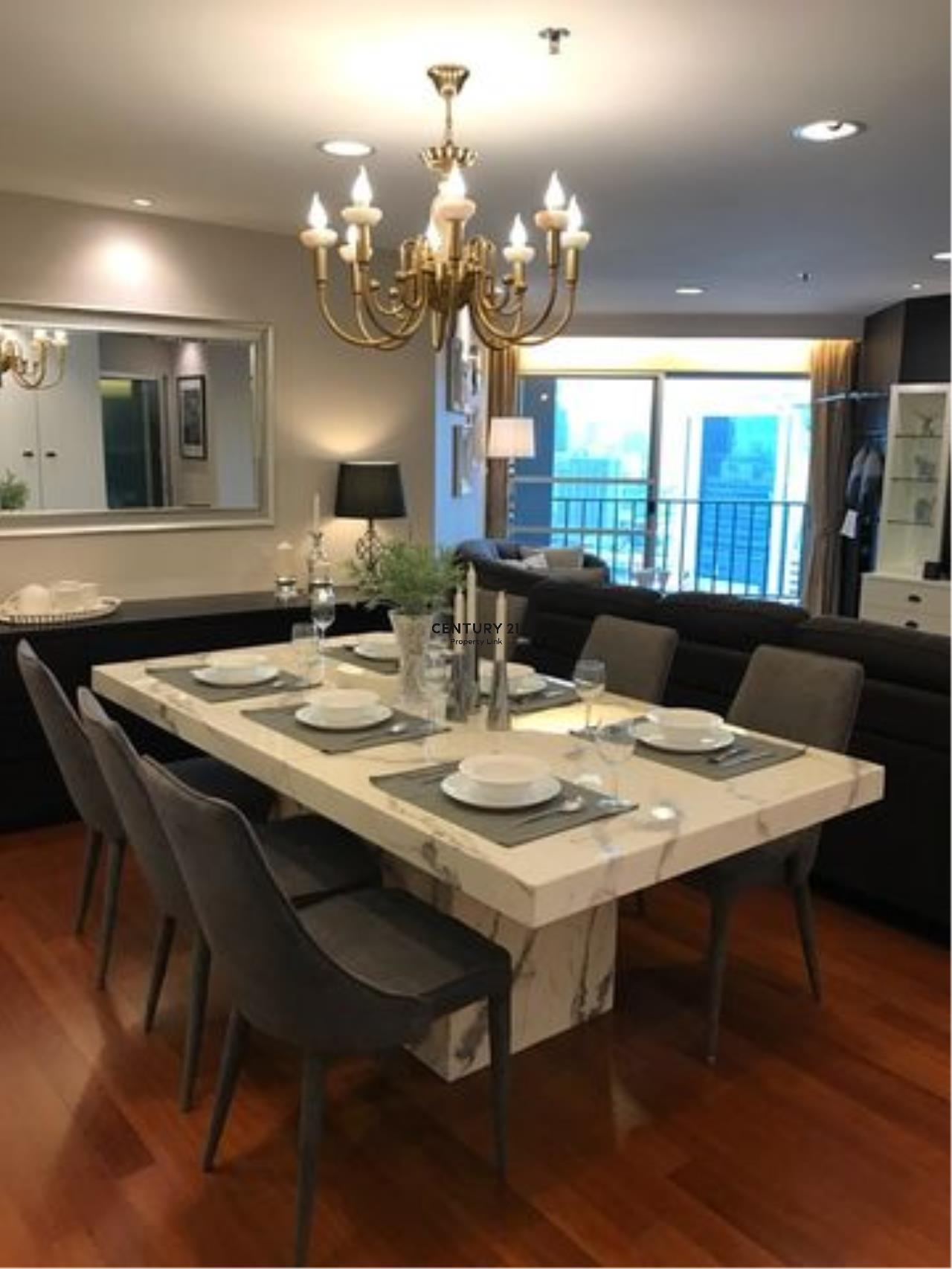 Century21 Property Link Agency's 39-CC-61594 BELLE GRAND RAMA 9 Condo for rent 3 bedrooms BTS RAMA 9 Huai Khwang Rental 89,000 THB./ month 4