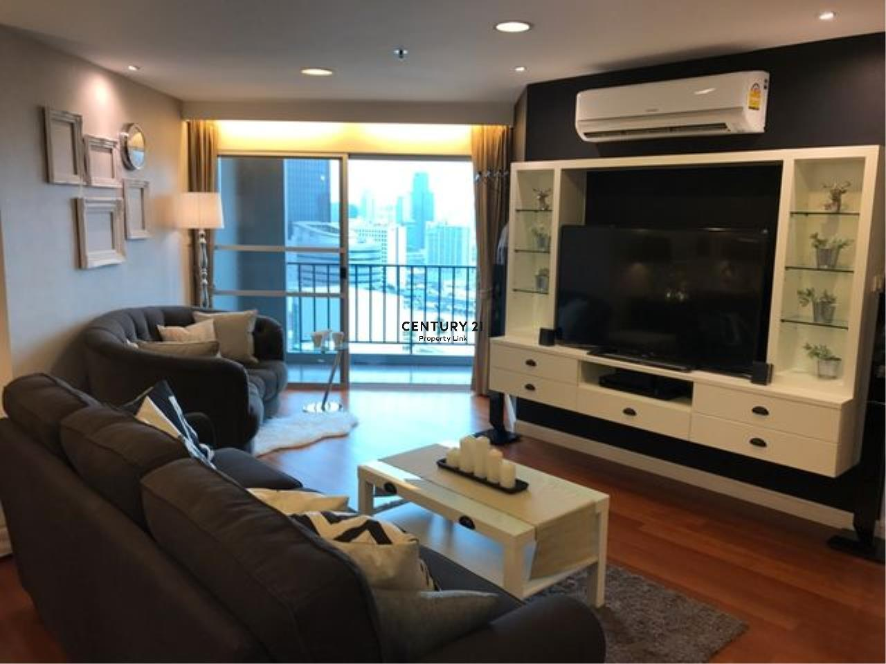 Century21 Property Link Agency's 39-CC-61594 BELLE GRAND RAMA 9 Condo for rent 3 bedrooms BTS RAMA 9 Huai Khwang Rental 89,000 THB./ month 3