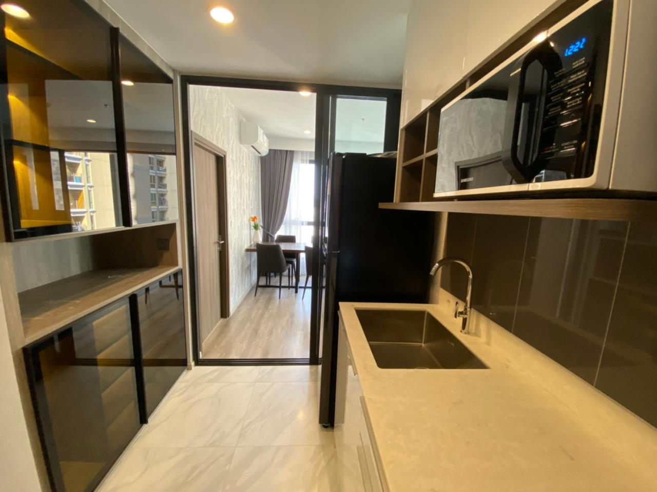 Su Agent Co.,Ltd Agency's BS074 Ideo Mobi Asoke 55 sq.m 2 Bedroom for rent 41,000 Baht/Month 2
