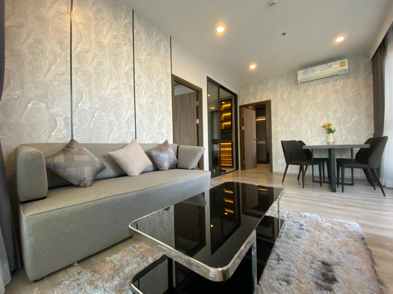Su Agent Co.,Ltd Agency's BS074 Ideo Mobi Asoke 55 sq.m 2 Bedroom for rent 41,000 Baht/Month 1