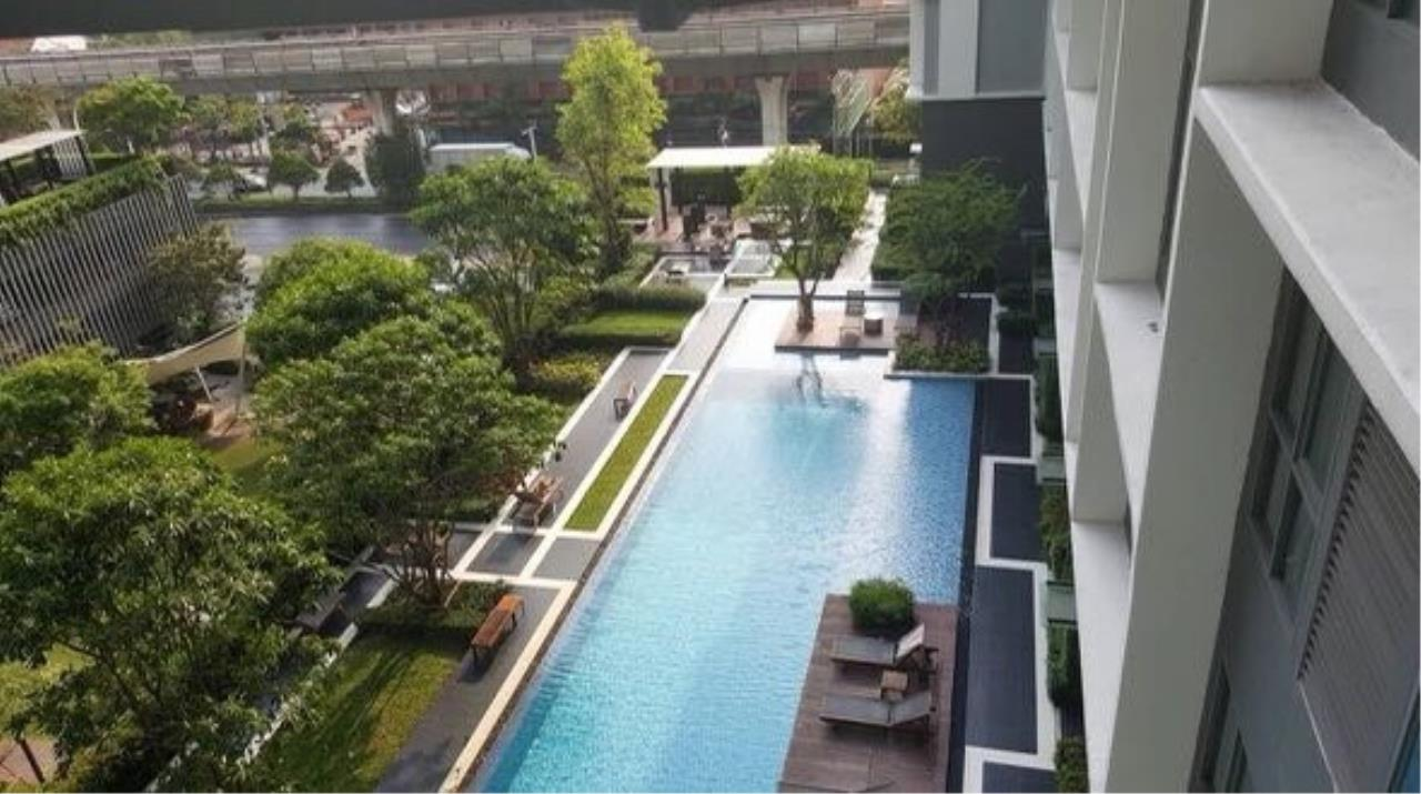 First Choice Properties by Su Agent Agency's KP015 Ideo Mobi Sukhumvit 81  For rent 13,500/month 1 bed. Size 22 sq.m.  BTS On Nuch 1