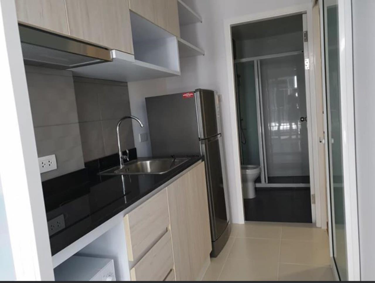First Choice Properties by Su Agent Agency's KP023 Green ville condo for rent 10,000/month. 31.71 sq.m. 1bed @BTS Punnawithi 2