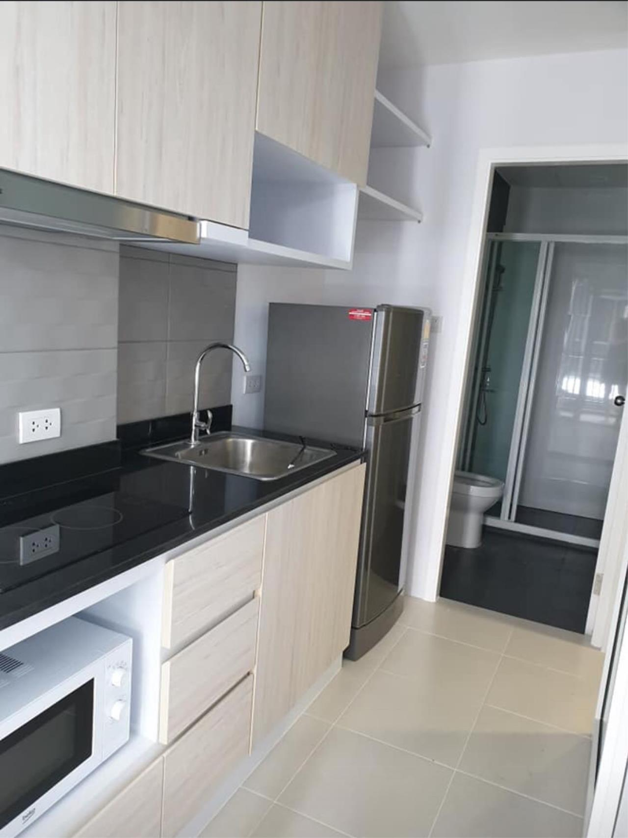 First Choice Properties by Su Agent Agency's KP023 Green ville condo for rent 10,000/month. 31.71 sq.m. 1bed @BTS Punnawithi 3