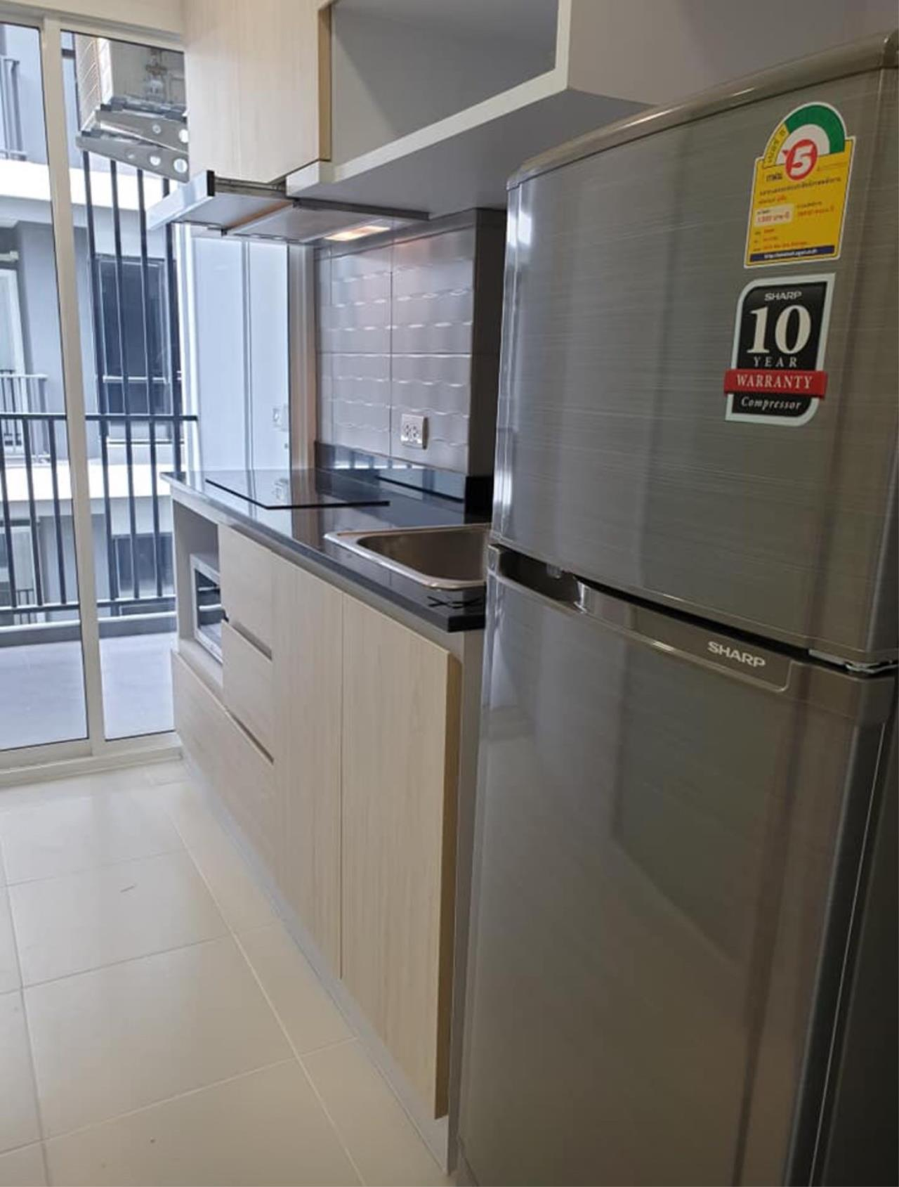 First Choice Properties by Su Agent Agency's KP023 Green ville condo for rent 10,000/month. 31.71 sq.m. 1bed @BTS Punnawithi 7