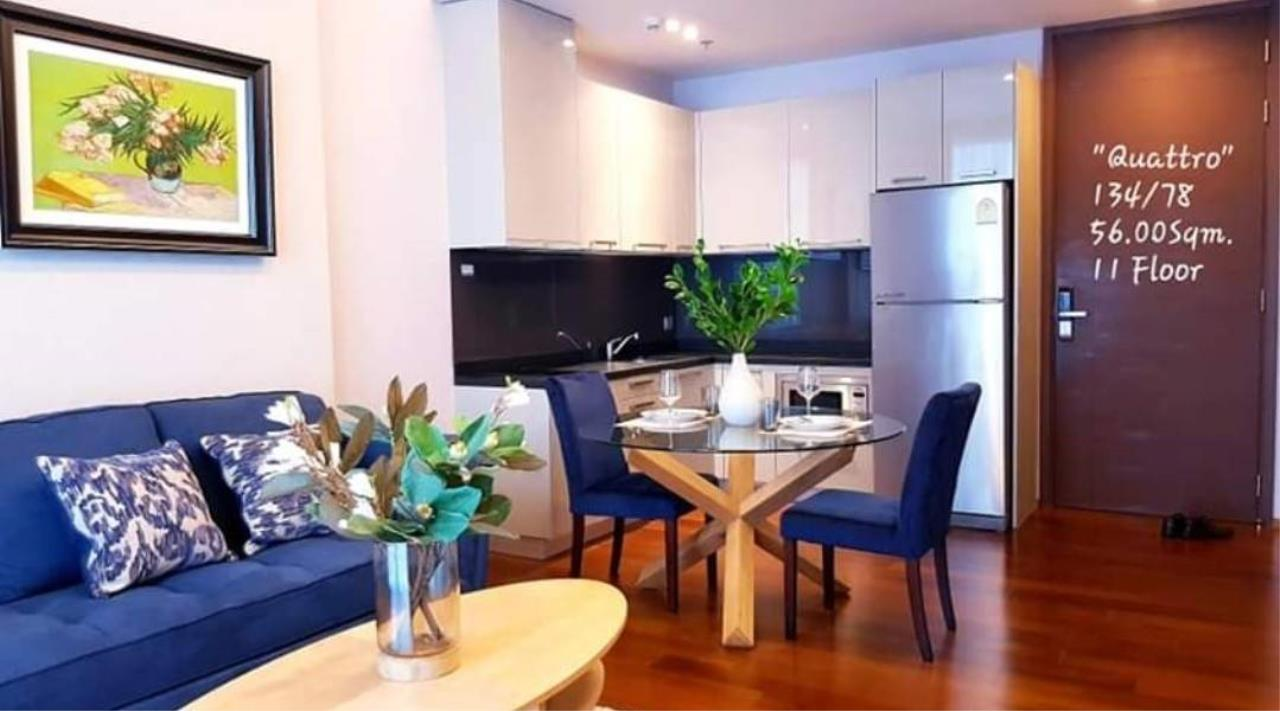 First Choice Properties by Su Agent Agency's S244  QUATTRO BY SANSIRI for rent 47,000/month 1bedroom 56 sq.m.  1