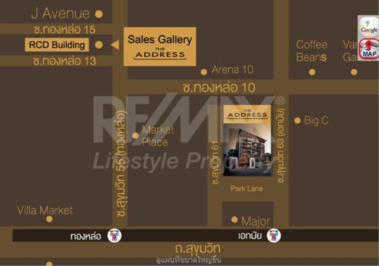 RE/MAX LifeStyle Property Agency's The Address Sukhumvit 61 9
