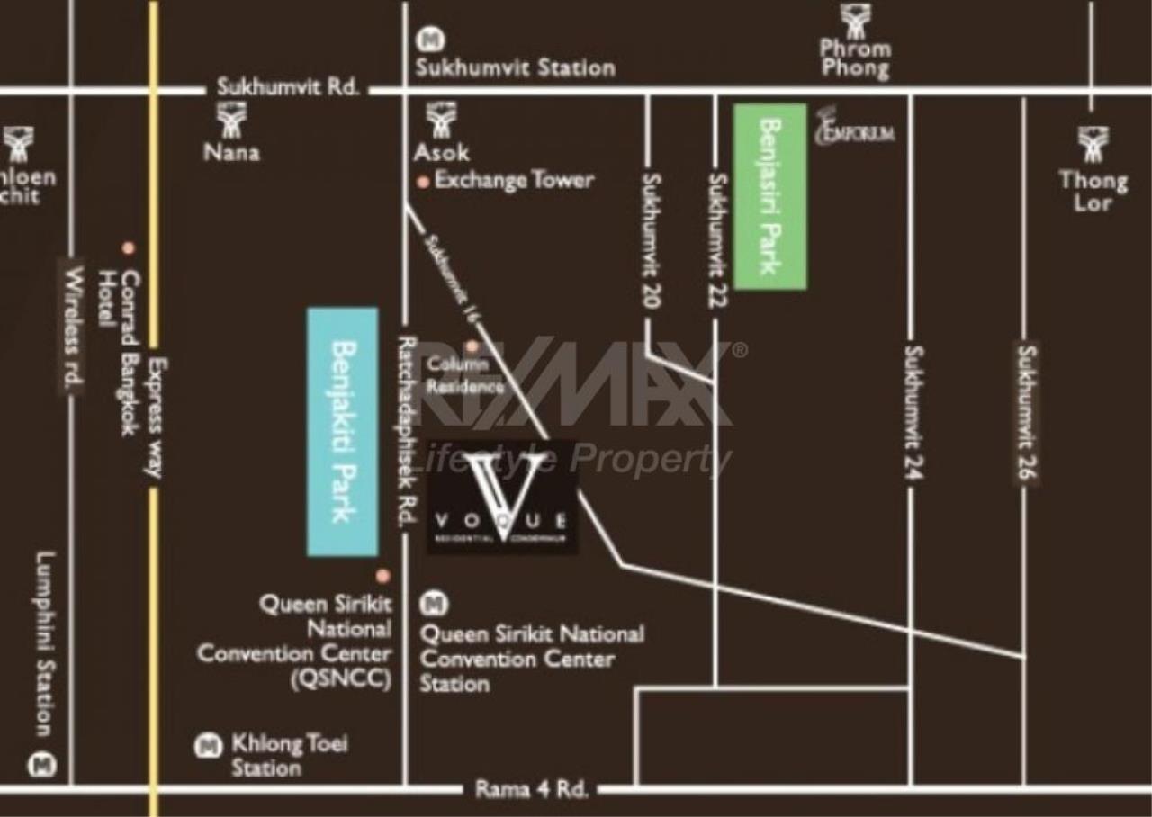 RE/MAX LifeStyle Property Agency's Voque Sukhumvit 16 1