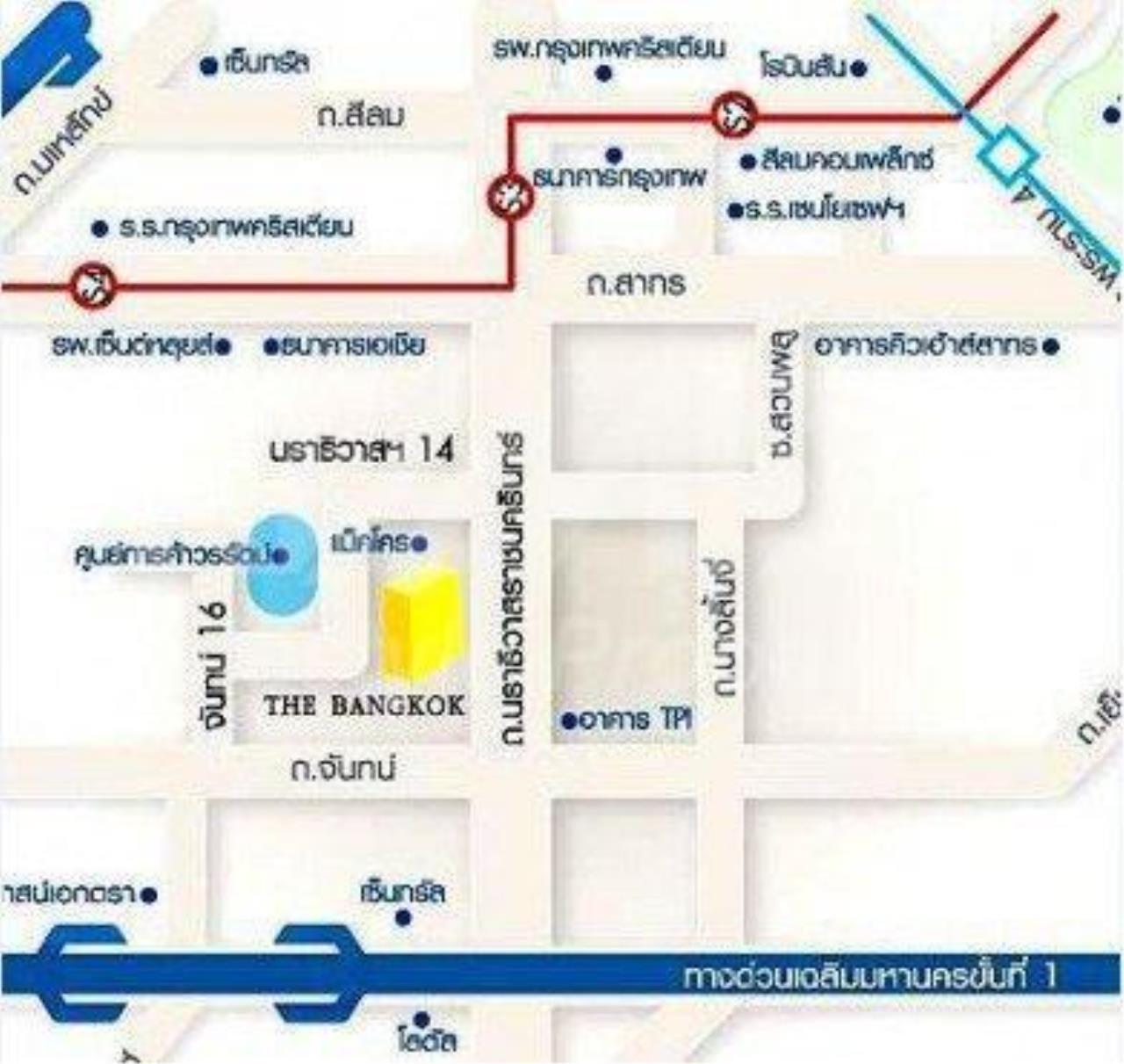 RE/MAX LifeStyle Property Agency's The Bangkok Narathiwas Ratchanakarint 1