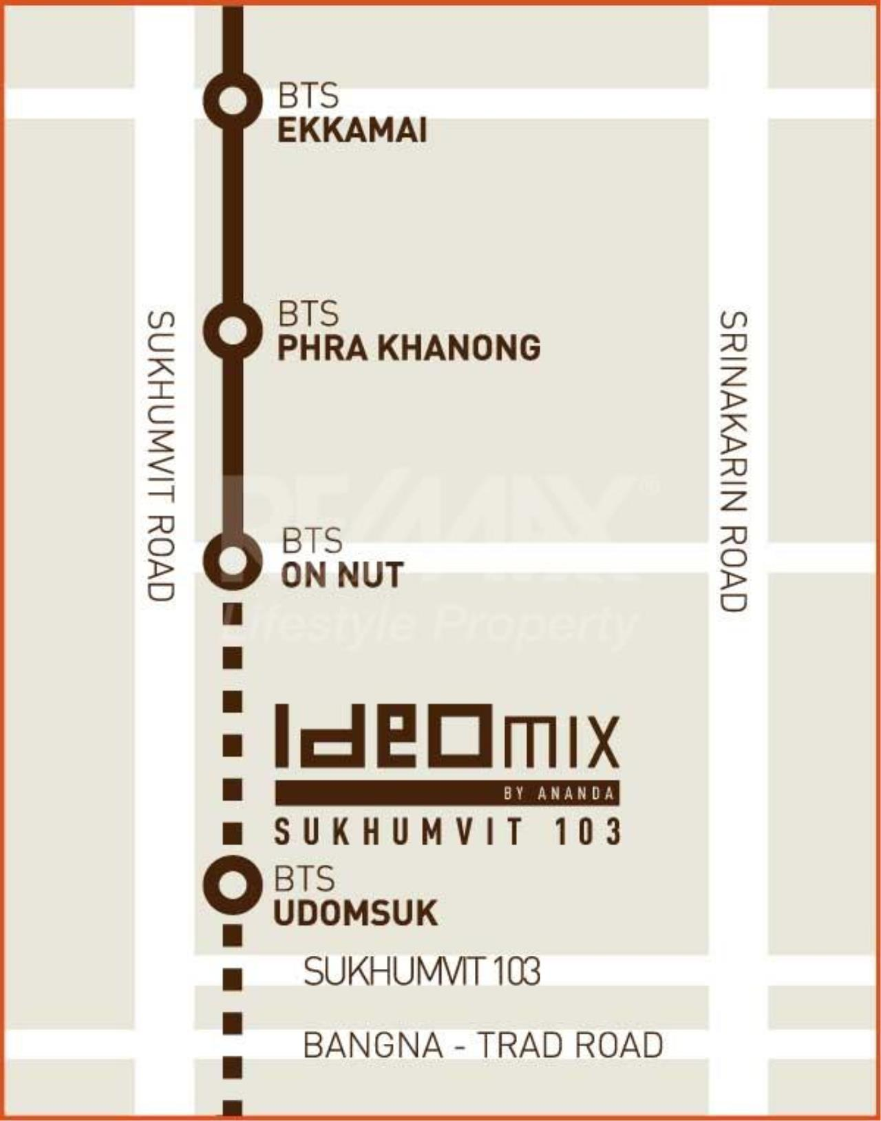 RE/MAX LifeStyle Property Agency's Ideo Mix Sukhumvit 103 1