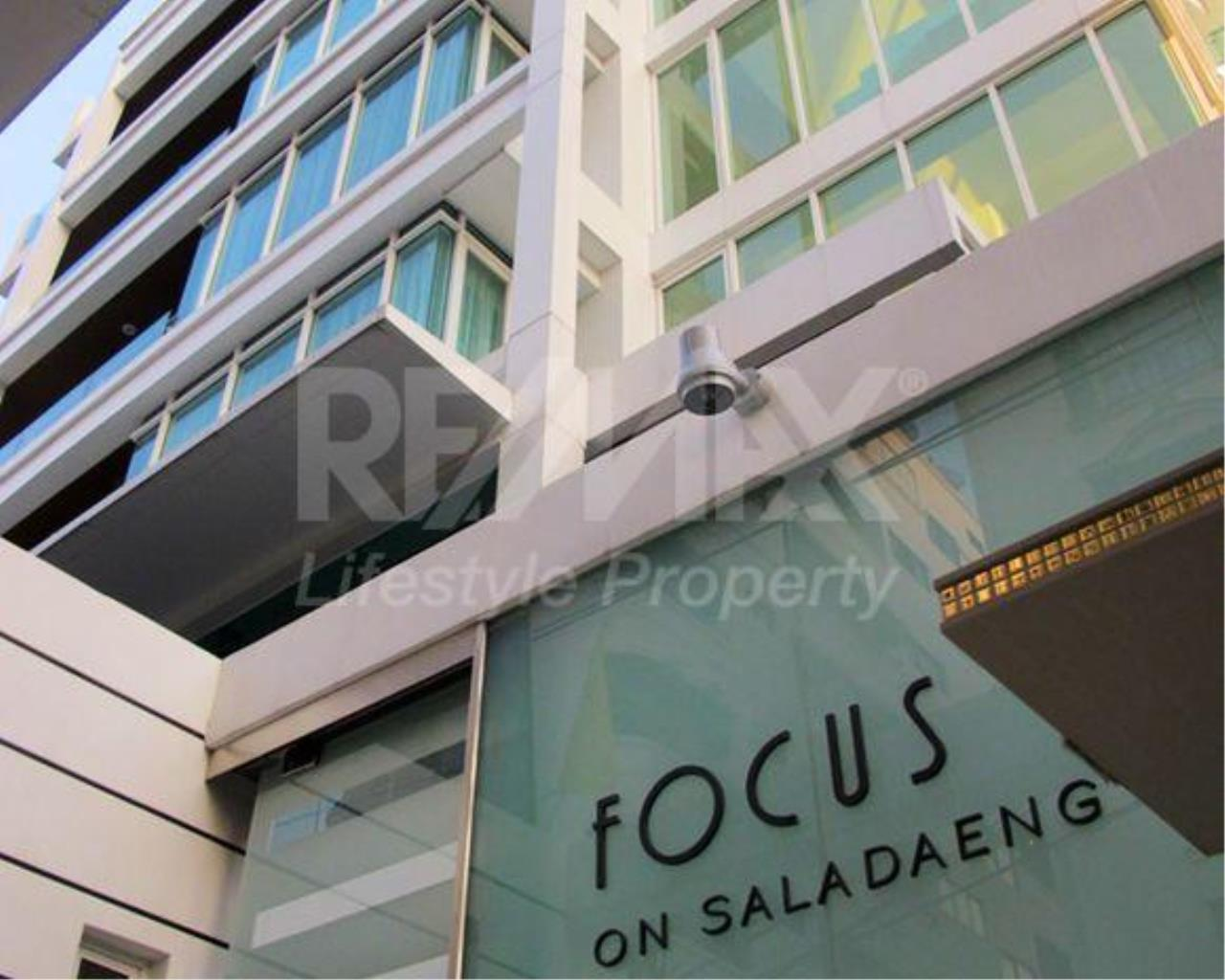 RE/MAX LifeStyle Property Agency's Focus on Saladaeng 1