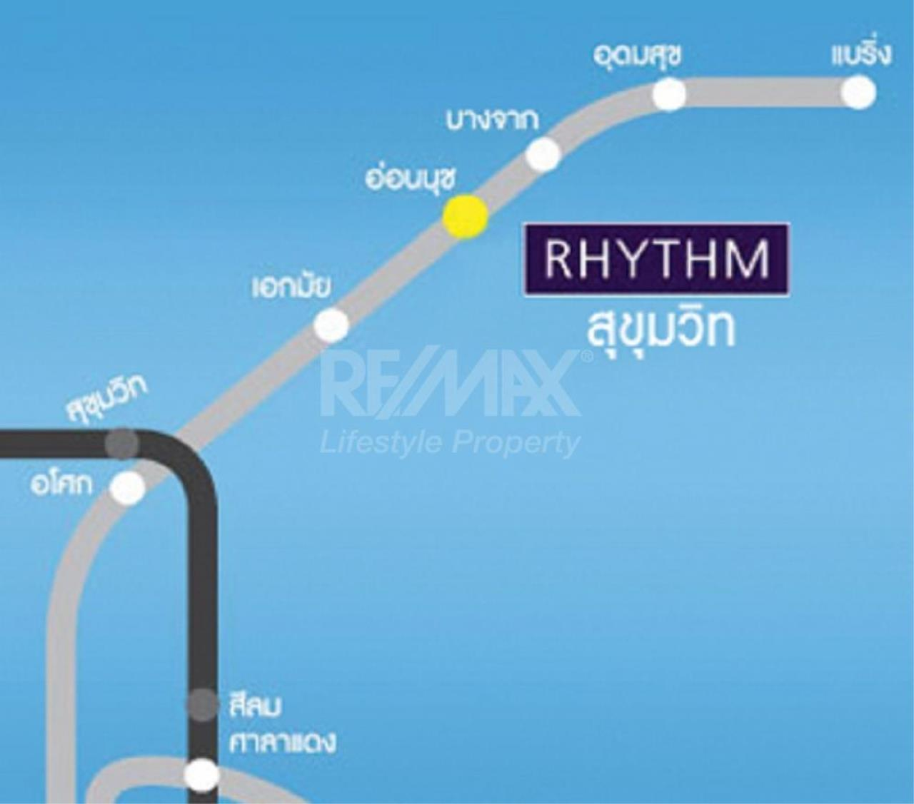 RE/MAX LifeStyle Property Agency's Rhythm Sukhumvit 1